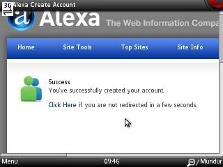 mendaftar di alexa.com